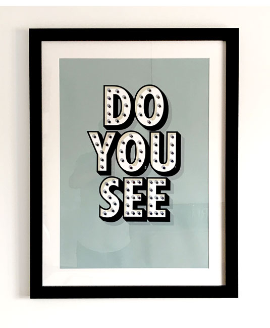 Frames poster - Do you see