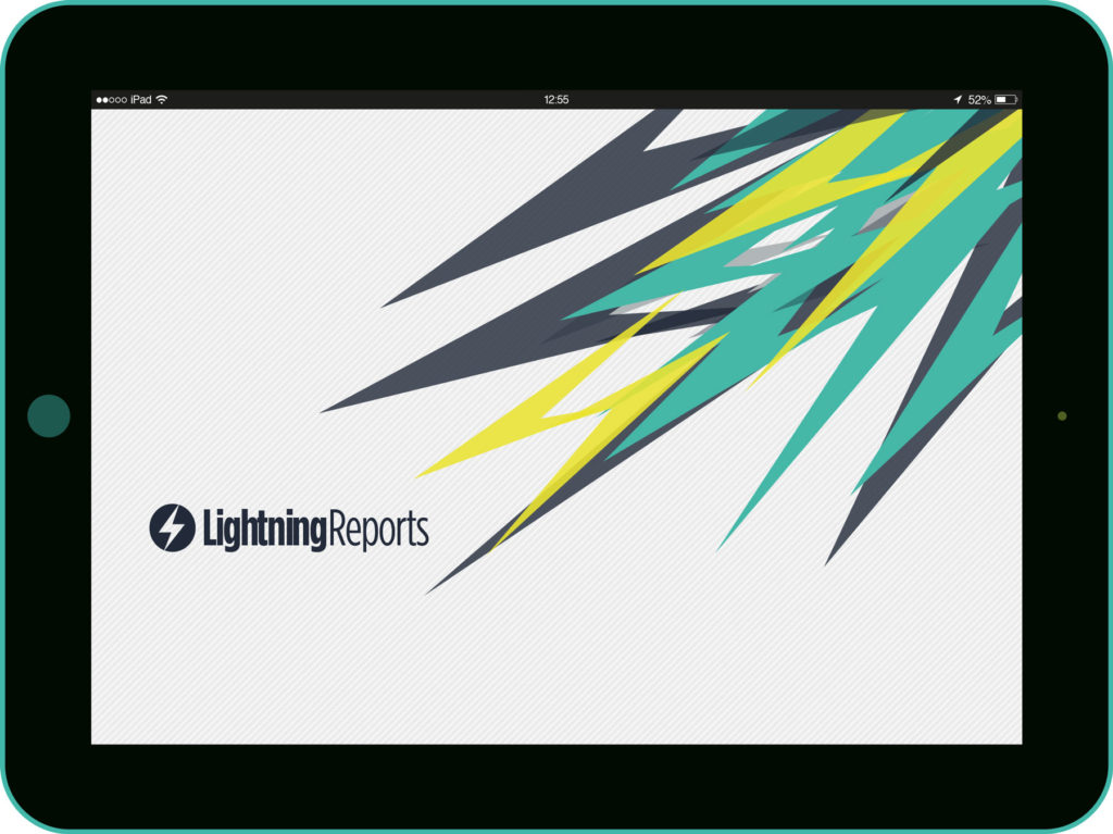 Lightning Reports splash screen