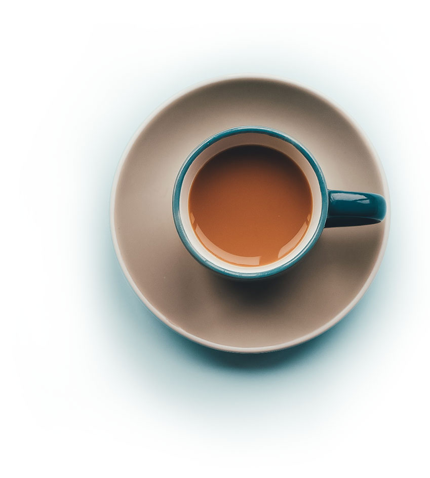 Coffee cup contact image