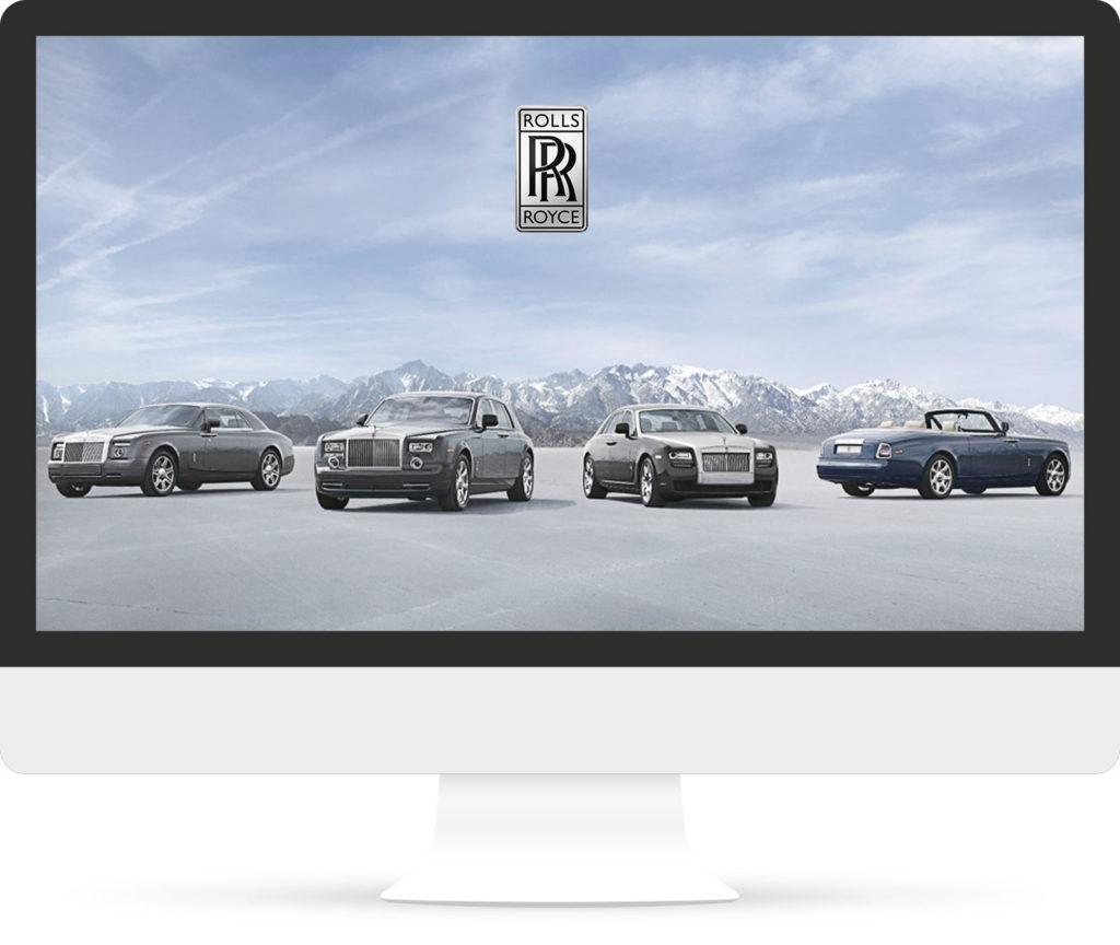 Rolls-Royce Motorcars homepage