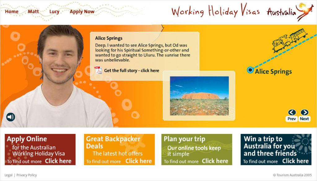 Matt's Journey in Alice Springs