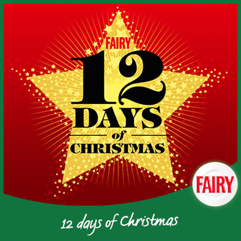 Fairy Facebook post: 12 Days of Christmas