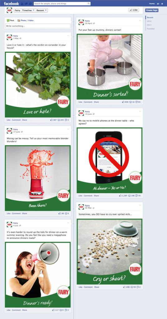 Fairy Facebook posts